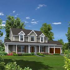 2 Story Country House Plans by Two Story Wrap Around Porch And A Nice Way To Feature A Spruced