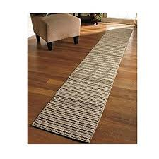 Striped Kitchen Rug Runner New 20 X 120 Sand Colored Striped Nonslip