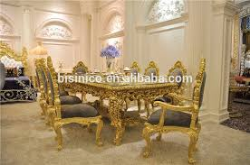 gold dining table set antique carved dining table set gorgeous luxury glass top dining