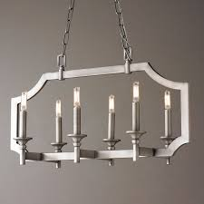 Metal Chandelier Frame Sleek Pagoda Frame Island Chandelier Shades Of Light