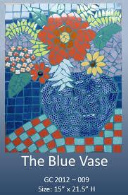 The Blue Vase Maarte Gigi Campos Mosaic Art Choose Philippines Find