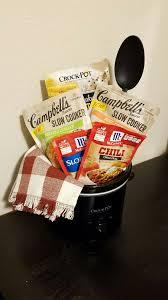 crockpot kitchen dinner gift basket silent auction fundraiser