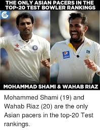 Top 20 Memes - the only asian pacers in the top 20 test bowler rankings star