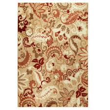 Paisley Area Rugs Paisley Lt Spice Area Rug Maples Rugs