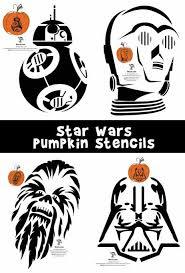 star wars pumpkin stencils woo jr kids activities