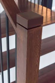 Contemporary Stair Parts by Best 25 Newel Post Caps Ideas On Pinterest Staircase Remodel