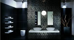 Black Bathroom Decorating Ideas Best  Black Bathroom Decor - Bathroom designs black and white