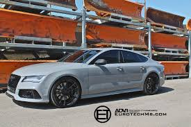 nardo grey nardo gray audi rs7 rides on adv 1 wheels autoevolution