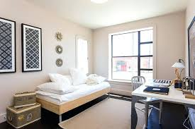 daybed in office minimal and modern decor for the guestroom home