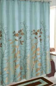 Aqua Blue Shower Curtains Blue Shower Curtain Ebay