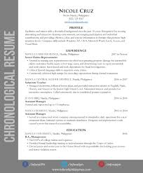 general resume 3 types of resumes cover letter and resume samples