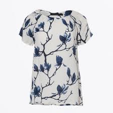 coster copenhagen top with floral print magnolia women s top coster copenhagen