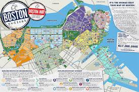 best tourist map of the absolute best tour map of boston period boston pedicab