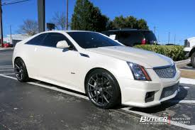 cadillac cts coupe rims cadillac cts v coupe with 20in vossen vfs6 wheels exclusively from