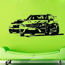 aliexpress com buy free shipping auto sports car wall decals aliexpress com buy free shipping auto sports car wall decals vinyl decal wall sticker home decoration wall mural wall decor tx 352 from reliable sticker