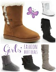 black friday boot deals girls u0027 fashion boots just 8 99 each shipped after kohl u0027s cash