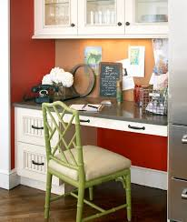 Kitchen Desk Organization Clever Ideas To Design A Functional Office In Your Kitchen