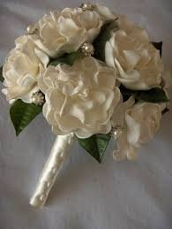 gardenia bouquet classic gardenia bouquet artificial wedding bouquet