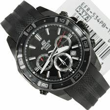 Jam Tangan Casio Karet jual jam tangan casio edifice efr 534pb jam casio jam tangan