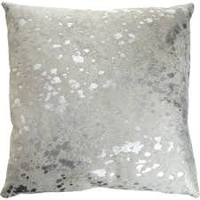 Silver Cowhide Rug Metallic Silver On White Cowhide Rug At Ecowhides Com
