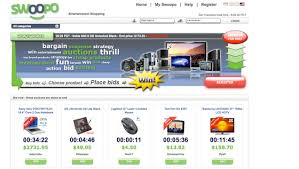 pay to bid auction goodnight swoopo the pay per bid auction site is dead techcrunch