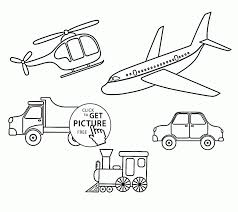 download coloring pages transportation coloring pages dltk