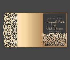 wedding invitation pocket envelopes tri fold pocket envelope 5x7 wedding invitation dxf svg eps