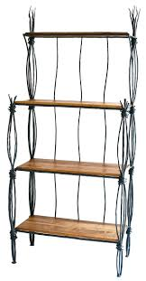 Wrought Iron Bakers Rack With Glass Shelves 70 Best Wall And Standing Shelving Images On Pinterest Home