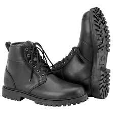 mens buckle biker boots stomper mens boots black brand