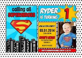superman birthday invitations plumegiant com