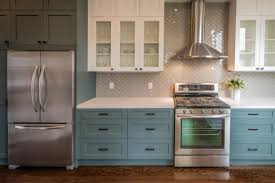 choosing a paint color for a kitchen with diverse materials a g