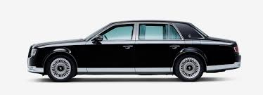 cars toyota 2017 toyota century saloon showcased at tokyo motor show 2017