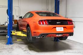 road test 2015 mustang suspension walkaround 2015 ford mustang gt term road test