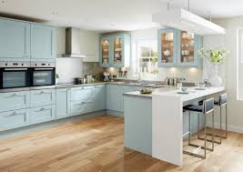 Howdens Kitchen Design by Tewkesbury Blue Shaker Style Kitchen Youtube