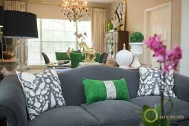 green sofa with pillows home decor loversiq