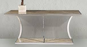 stainless steel console table stone international console table 8194
