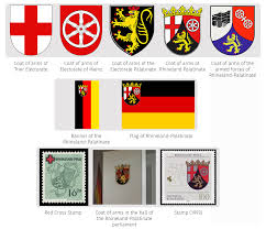 White Flag With Red Cross On Blue Square Heraldry Of German States U2014 The Dialogue