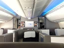 747 Dreamliner Interior Review British Airways Dreamliner Boeing 787 On The Way To