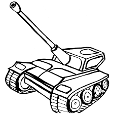 army armored tank colouring pages to print for boy