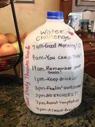 Challenge Water Farewell Letter From Water And Weight Loss