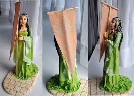 lord of the rings cake topper amazing arwen and aragon cake toppers between the pages