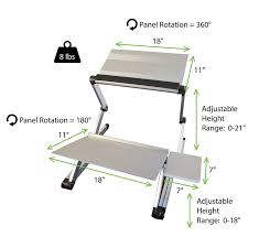 workez standing desk conversion kit adjustable ergonomic sit to