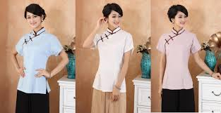 2017 2015 chinese style top blouses traditional chinese women u0027s