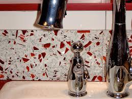 recycled glass backsplashes for kitchens recycled glass backsplash ideas for the home