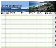 Driver Log Sheet Template Vehicle Log Sheet Format Template
