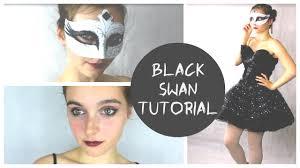 Halloween Black Swan Makeup Black Swan Halloween Tutorial Elise Booth Ad Youtube