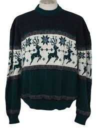 retro 1980 u0027s mens christmas sweater creek 80s authentic