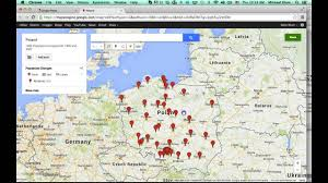 Google Map Germany by Google Maps Tutorial Poland Population Map Youtube