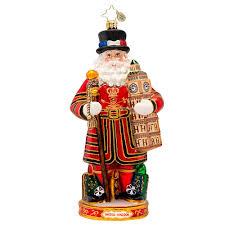 christopher radko ornaments 2015 radko santa ornament