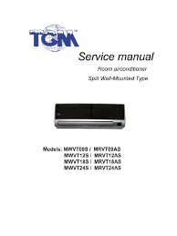 aire tgm espejo service manual mwvt mrvt air conditioning